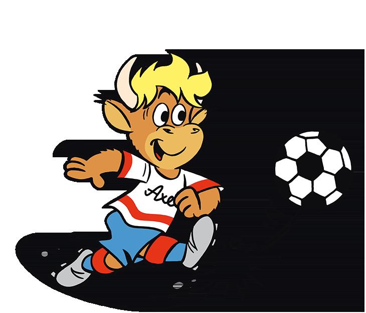 OMIRA Milch - Kids Club Gewinnspiel Axel spielt Fussball