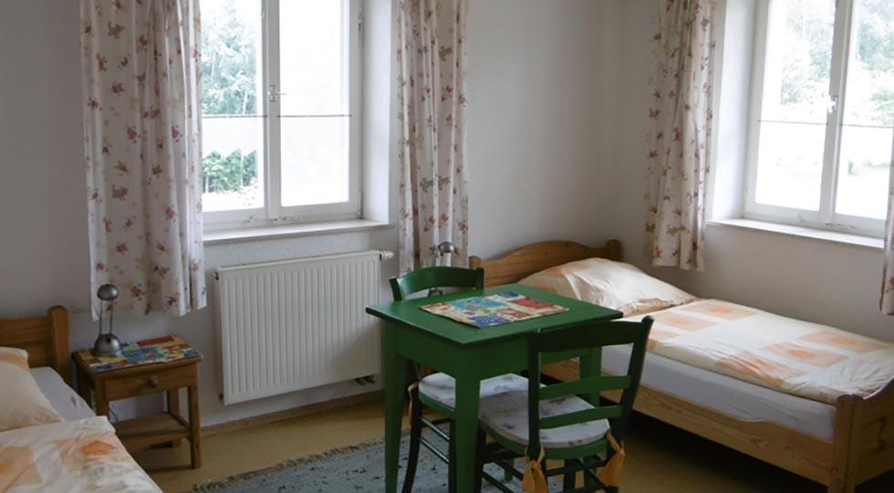Kinderzimmer der Ferienwohnung von Familie Briegel