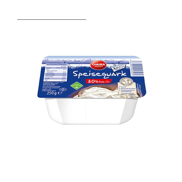 Speisequark 20 % Fett Produktabbildung