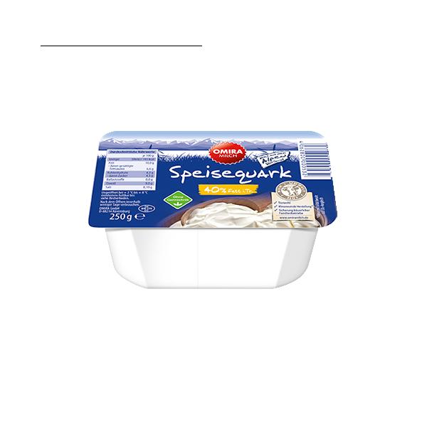 Speisequark 40 % Fett Produktabbildung