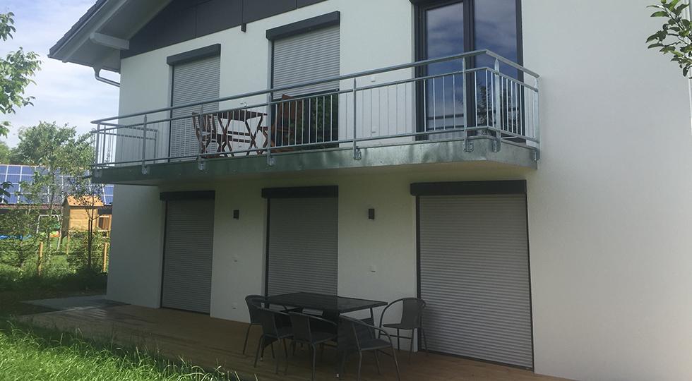 Balkon und Terasse von Familie Müller