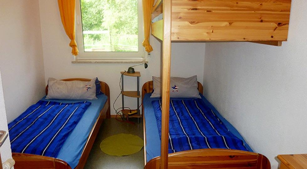 Kinderzimmer einer Ferienwohnung von Familie Hahn