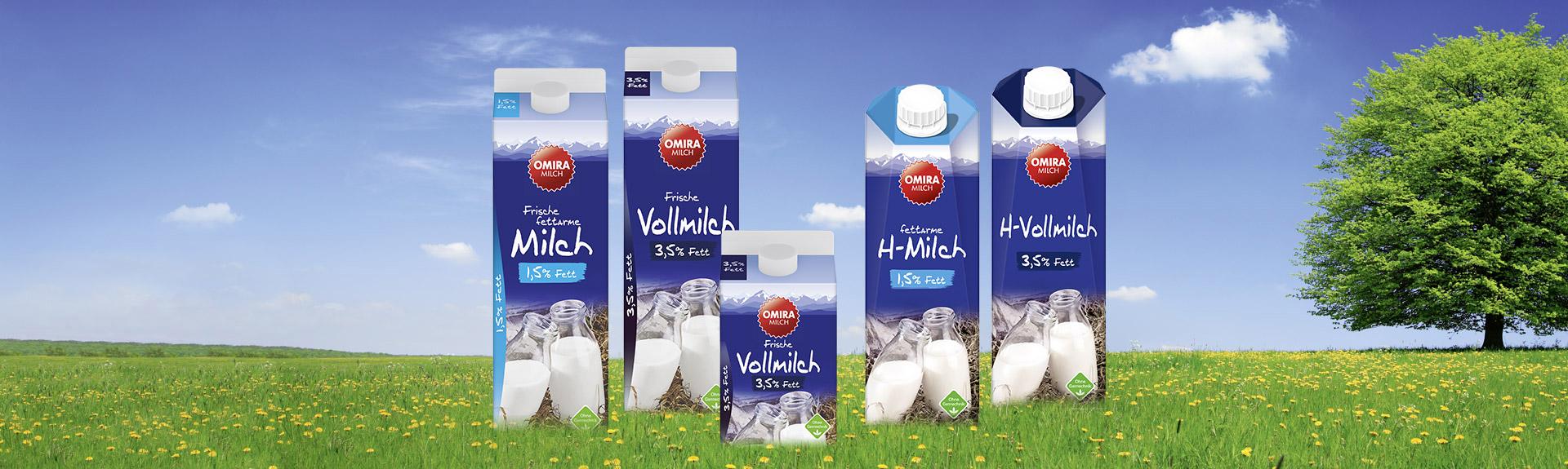 OMIRA Milch Produkte