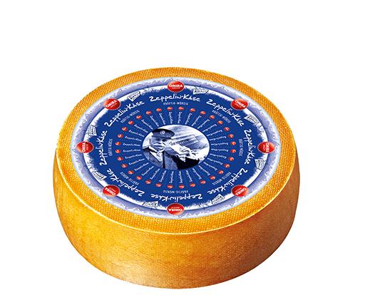 Produktabbildung: OMIRA MILCH Zeppelin-Käse Laib