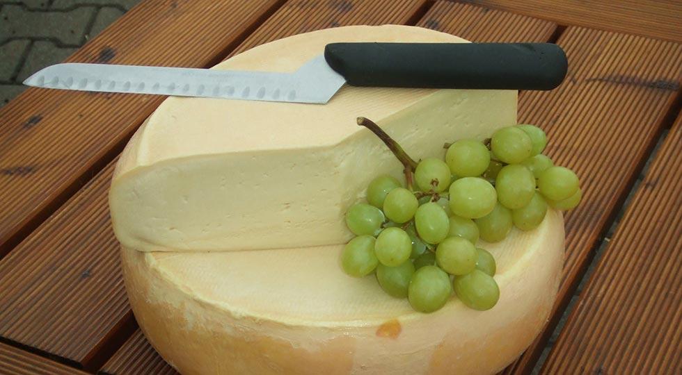 Hausgemachter Käse der Familie Schele
